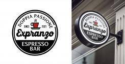 Logo & Huisstijl # 1155631 voor Ontwerp een korte  krachtige en pakkende bedrijfsnaam voor Espressobar! wedstrijd