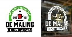 Logo & Huisstijl # 1155635 voor Ontwerp een korte  krachtige en pakkende bedrijfsnaam voor Espressobar! wedstrijd