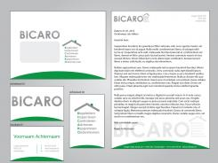 Logo & Huisstijl # 241690 voor Ontwerp een logo, briefpapier, visitekaartjes en favicon voor adviesbureau BICARO wedstrijd