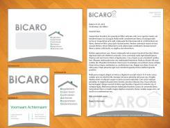 Logo & Huisstijl # 241692 voor Ontwerp een logo, briefpapier, visitekaartjes en favicon voor adviesbureau BICARO wedstrijd