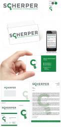 Logo & Huisstijl # 437815 voor Rotterdams onderzoeks- en adviesbureau Scherper zoekt passend logo+huisstijl wedstrijd