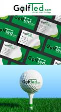 Logo & stationery # 1172668 for Design a logo and corporate identity for GolfTed   electric golf trolleys contest