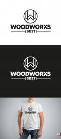 Logo & Huisstijl # 1035460 voor  Woodworx Best    Ontwerp een stoer logo   huisstijl   busontwerp   visitekaartje voor mijn timmerbedrijf wedstrijd