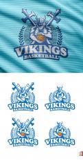 Logo & Huisstijl # 1102586 voor Basketbalclub Vikings wedstrijd