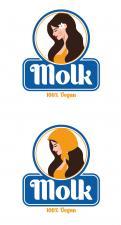Logo & Huisstijl # 1051288 voor Beeldmerk en letterlogo   veganistische kaas wedstrijd