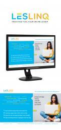Logo & Huisstijl # 1082167 voor Ontwerp een logo en een webpage voor LesLinq  een nieuw te lanceren educatief platform wedstrijd