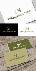 Logo & Huisstijl # 1060908 voor Green Housing   duurzaam en vergroenen van Vastgoed   industiele look wedstrijd