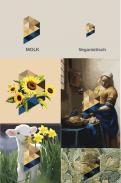 Logo & Huisstijl # 1054046 voor Beeldmerk en letterlogo   veganistische kaas wedstrijd