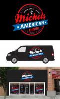Logo & Huisstijl # 391224 voor Snackbar lunchroom amerikaanse jaren 50 en 60 stijl wedstrijd