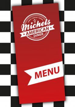 Ontwerpen van onwijsreclame snackbar lunchroom amerikaanse jaren 50 en 60 stijl - Huisstijl amerikaanse ...
