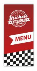 Logo & Huisstijl # 389129 voor Snackbar lunchroom amerikaanse jaren 50 en 60 stijl wedstrijd