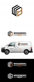 Logo & Huisstijl # 1034533 voor  Woodworx Best    Ontwerp een stoer logo   huisstijl   busontwerp   visitekaartje voor mijn timmerbedrijf wedstrijd