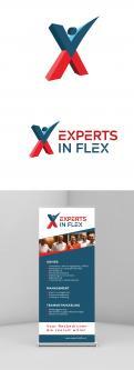 Logo & Huisstijl # 1042965 voor Ontwikkel een eigentijds logo en basis huisstijl  kleurenschema  font  basis middelen  voor  Experts in Flex'  wedstrijd