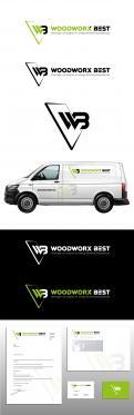 Logo & Huisstijl # 1035769 voor  Woodworx Best    Ontwerp een stoer logo   huisstijl   busontwerp   visitekaartje voor mijn timmerbedrijf wedstrijd