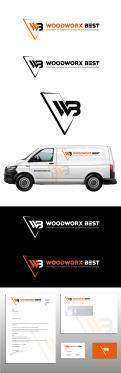 Logo & Huisstijl # 1035770 voor  Woodworx Best    Ontwerp een stoer logo   huisstijl   busontwerp   visitekaartje voor mijn timmerbedrijf wedstrijd