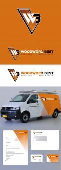 Logo & Huisstijl # 1036071 voor  Woodworx Best    Ontwerp een stoer logo   huisstijl   busontwerp   visitekaartje voor mijn timmerbedrijf wedstrijd