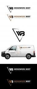Logo & Huisstijl # 1035369 voor  Woodworx Best    Ontwerp een stoer logo   huisstijl   busontwerp   visitekaartje voor mijn timmerbedrijf wedstrijd