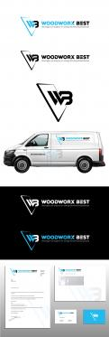 Logo & Huisstijl # 1035772 voor  Woodworx Best    Ontwerp een stoer logo   huisstijl   busontwerp   visitekaartje voor mijn timmerbedrijf wedstrijd