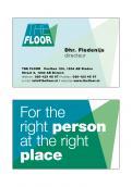 Logo & Huisstijl # 952863 voor The Floor   recruitment company   The Floor is Yours wedstrijd