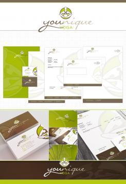 Logo & Corp. Design  # 500682 für Entwerfen Sie ein modernes+einzigartiges Logo und Corp. Design für Yoga Trainings Wettbewerb