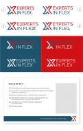 Logo & Huisstijl # 1041224 voor Ontwikkel een eigentijds logo en basis huisstijl  kleurenschema  font  basis middelen  voor  Experts in Flex'  wedstrijd