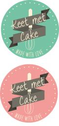 Logo & Huisstijl # 324316 voor Wordt jouw ontwerp de kers op mijn taart? Ontwerp een logo en huisstijl voor Keet met Cake! wedstrijd