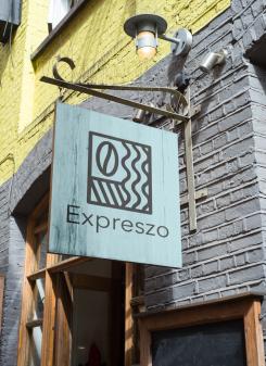 Logo & Huisstijl # 1174387 voor Ontwerp een korte  krachtige en pakkende bedrijfsnaam voor Espressobar! wedstrijd