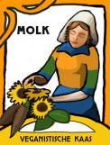 Logo & Huisstijl # 1046818 voor Beeldmerk en letterlogo   veganistische kaas wedstrijd