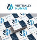 Logo & Huisstijl # 1239191 voor Huisstijl Virtually Human wedstrijd
