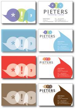 Logo & Huisstijl # 327 voor Fris en innovatief logo en huisstijl voor Pieters Marketing Advies wedstrijd