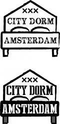 Logo & Huisstijl # 1040103 voor City Dorm Amsterdam  mooi hostel in hartje Amsterdam op zoek naar logo   huisstijl wedstrijd