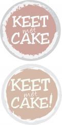 Logo & Huisstijl # 324342 voor Wordt jouw ontwerp de kers op mijn taart? Ontwerp een logo en huisstijl voor Keet met Cake! wedstrijd