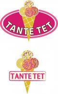 Logo & Huisstijl # 1051996 voor Tante Tet IJs met veel toppings  ijs als beleving  wedstrijd