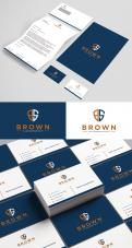 Logo & stationery # 1152290 for Design a masculine  professional  reliable logo   corporate identity for business services! contest