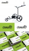 Logo & stationery # 1169868 for Design a logo and corporate identity for GolfTed   electric golf trolleys contest