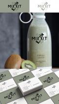 Logo & Huisstijl # 1173603 voor Mixxit   the bottle that blends wedstrijd
