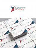 Logo & Huisstijl # 1042688 voor Ontwikkel een eigentijds logo en basis huisstijl  kleurenschema  font  basis middelen  voor  Experts in Flex'  wedstrijd