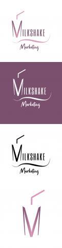 Logo & Huisstijl # 1105537 voor Wanted  Tof logo voor marketing agency  Milkshake marketing wedstrijd