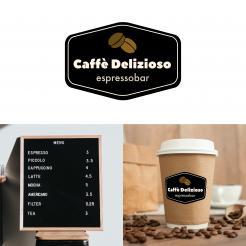 Logo & Huisstijl # 1162545 voor Ontwerp een korte  krachtige en pakkende bedrijfsnaam voor Espressobar! wedstrijd