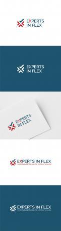 Logo & Huisstijl # 1041123 voor Ontwikkel een eigentijds logo en basis huisstijl  kleurenschema  font  basis middelen  voor  Experts in Flex'  wedstrijd
