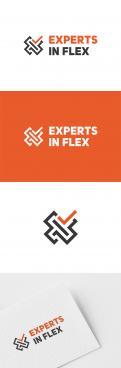 Logo & Huisstijl # 1042129 voor Ontwikkel een eigentijds logo en basis huisstijl  kleurenschema  font  basis middelen  voor  Experts in Flex'  wedstrijd