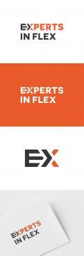 Logo & Huisstijl # 1042130 voor Ontwikkel een eigentijds logo en basis huisstijl  kleurenschema  font  basis middelen  voor  Experts in Flex'  wedstrijd