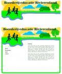 Logo & Huisstijl # 219956 voor Logo & huisstijl voor Boerderij-educatie Rivierenland, samenwerkingsverband agrarisch ondernemers die lesgeven aan basisschoolklassen op hun bedrijf. wedstrijd