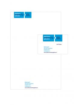 Logo & Huisstijl # 428 voor Fris en innovatief logo en huisstijl voor Pieters Marketing Advies wedstrijd