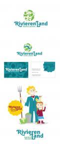 Logo & Huisstijl # 219739 voor Logo & huisstijl voor Boerderij-educatie Rivierenland, samenwerkingsverband agrarisch ondernemers die lesgeven aan basisschoolklassen op hun bedrijf. wedstrijd