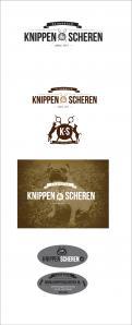 Logo & Huisstijl # 226473 voor logo, huisstijl, visitekaartjeSTICKER Knippen & Scheren: ambachtelijke trimsalon wedstrijd