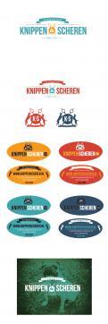 Logo & Huisstijl # 227207 voor logo, huisstijl, visitekaartjeSTICKER Knippen & Scheren: ambachtelijke trimsalon wedstrijd