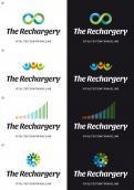 Logo & Huisstijl # 1108466 voor Ontwerp een pakkend logo voor The Rechargery  vitaliteitsontwikkeling vanuit hoofd  hart en lijf wedstrijd