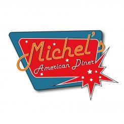 Ontwerpen van publidesign snackbar lunchroom amerikaanse jaren 50 en 60 stijl - Huisstijl amerikaanse ...