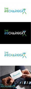 Logo & Huisstijl # 1109195 voor Ontwerp een pakkend logo voor The Rechargery  vitaliteitsontwikkeling vanuit hoofd  hart en lijf wedstrijd
